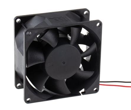 Sunon , 24 V dc, DC Axial Fan, 80 x 80 x 38mm, 143m³/h, 9.6W