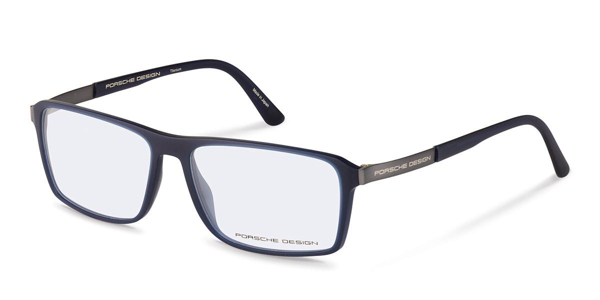 Porsche Design P8259 E Men's Glasses Blue Size 57 - Free Lenses - HSA/FSA Insurance - Blue Light Block Available