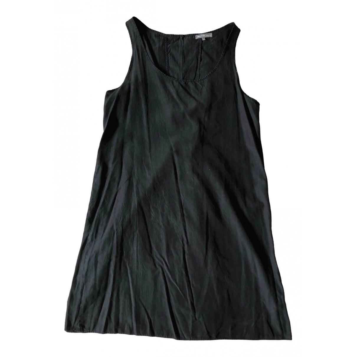 James Perse \N Black Silk dress for Women 2 US