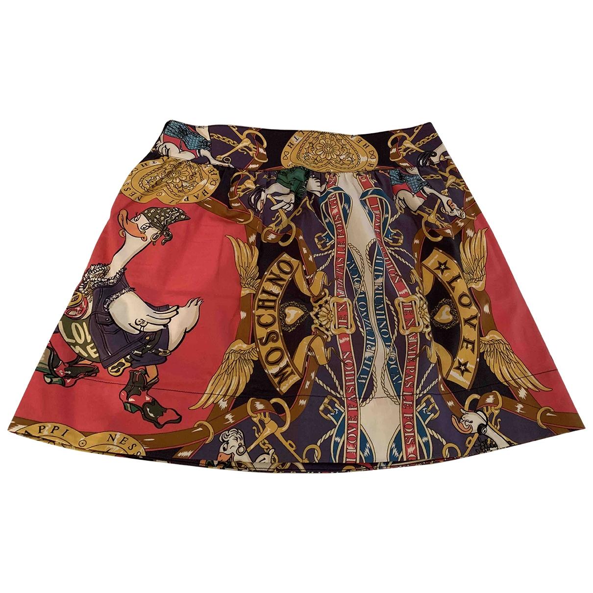Moschino Love - Jupe   pour femme en coton - multicolore