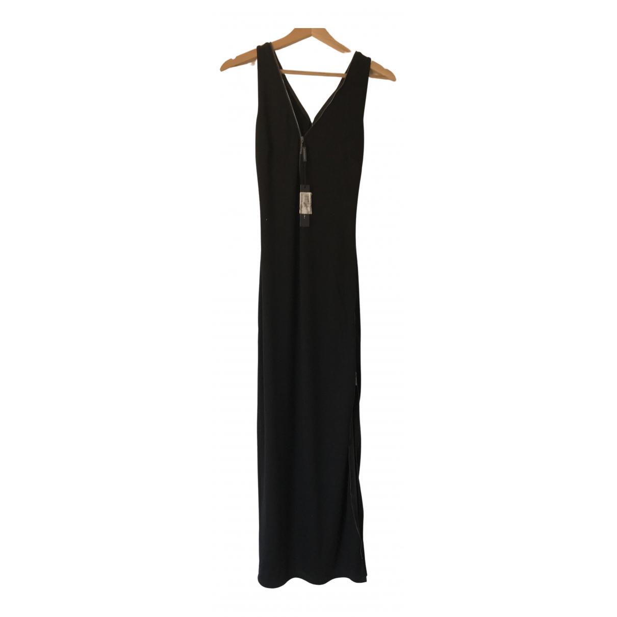 Elie Tahari - Robe   pour femme en coton - elasthane - noir
