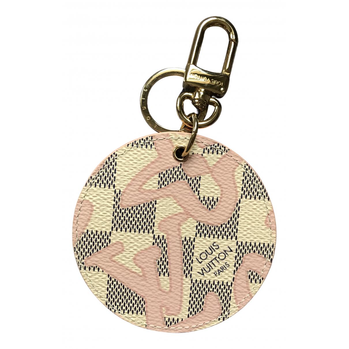 Louis Vuitton - Petite maroquinerie   pour femme en toile - blanc