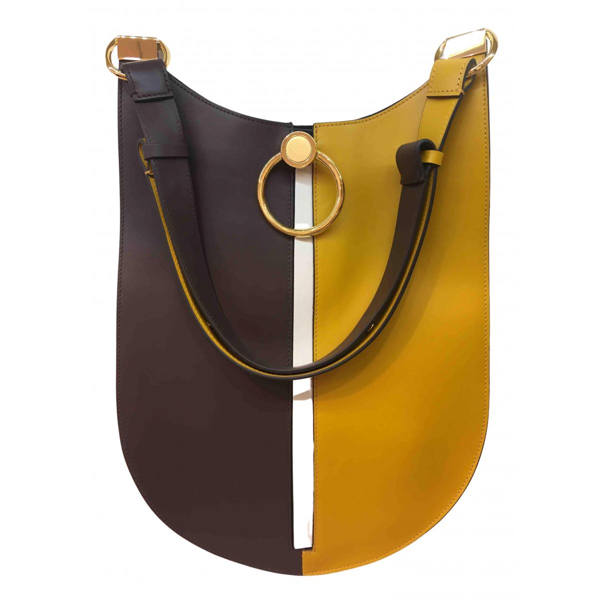 Marni Earring Handtasche in  Bunt Leder
