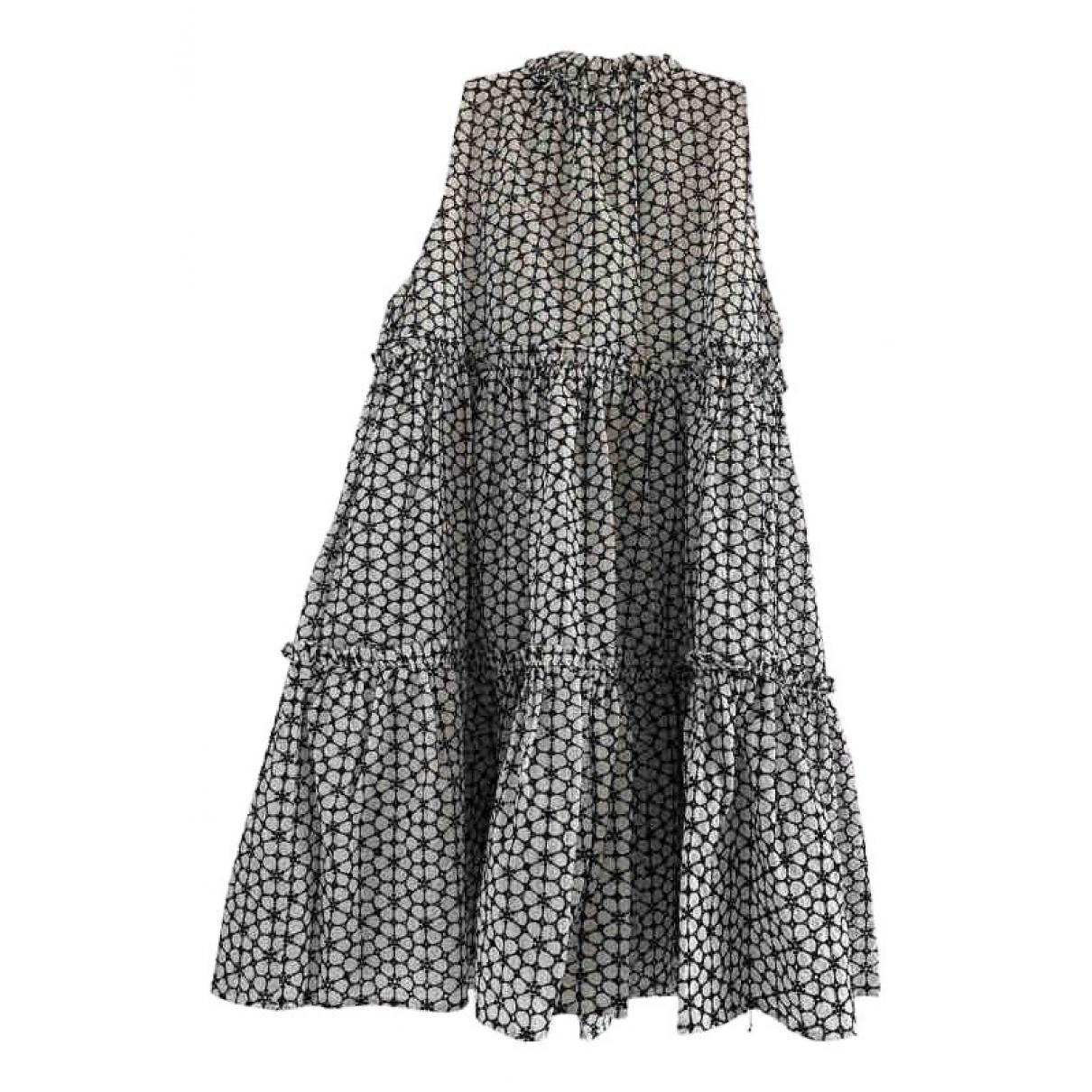 Lisa Marie Fernandez \N Kleid in  Weiss Baumwolle