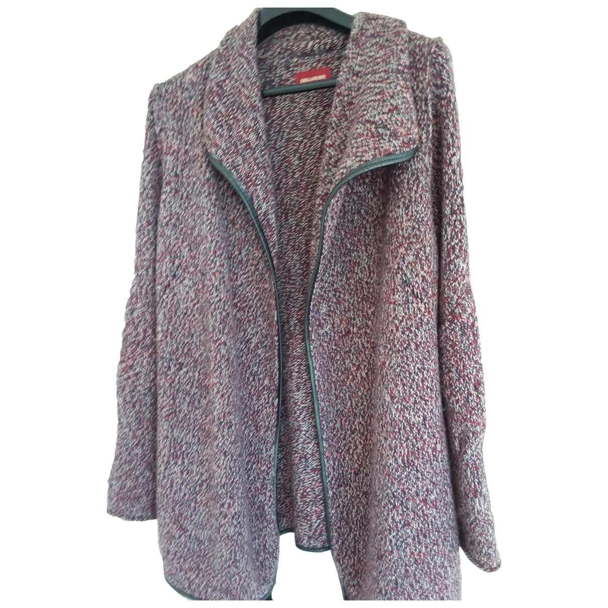 Zadig & Voltaire \N Burgundy Wool Knitwear for Women M International
