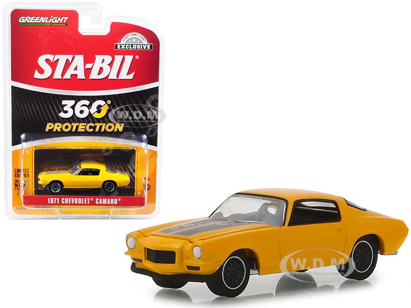 1971 Chevrolet Camaro Metallic Yellow