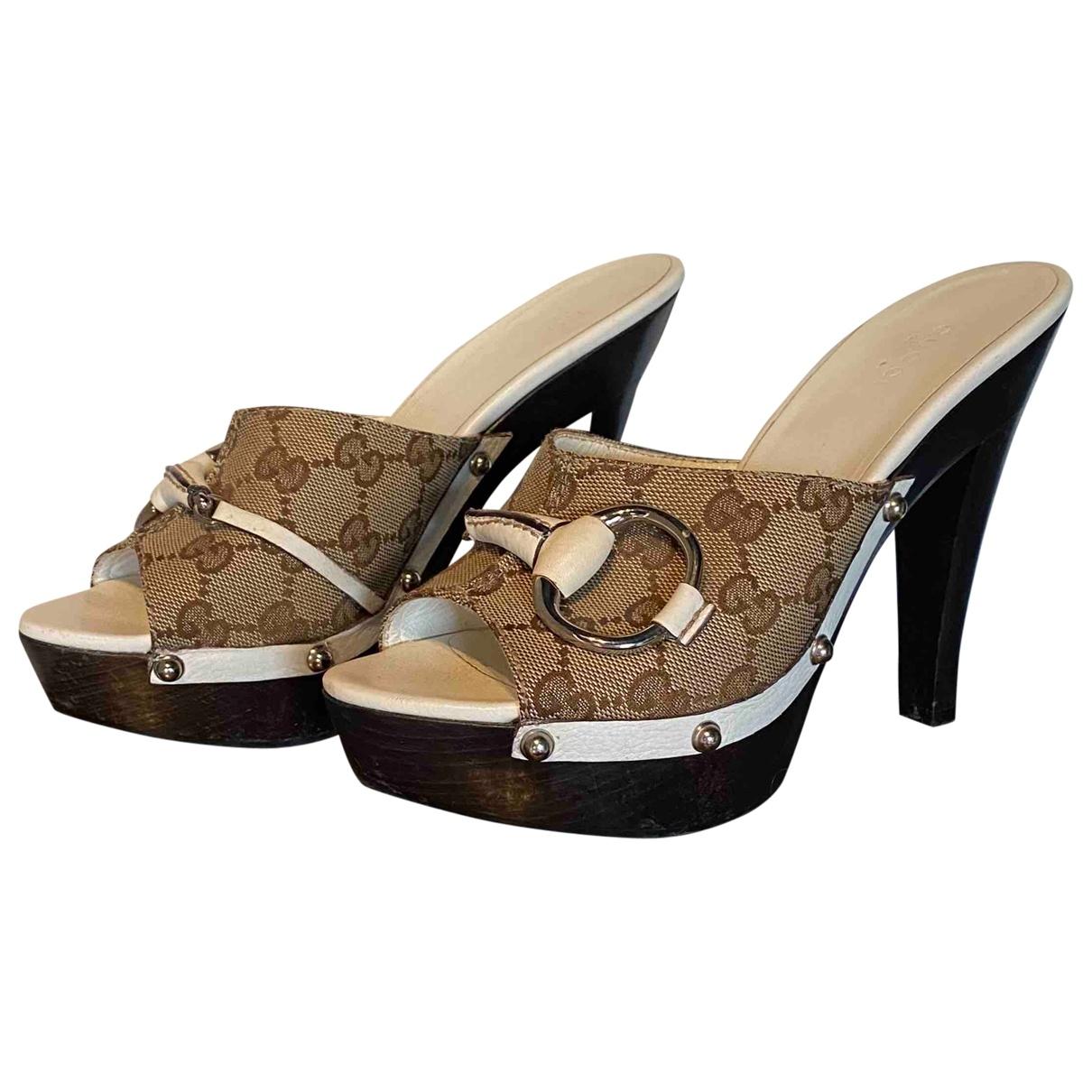 Gucci - Sandales   pour femme en toile
