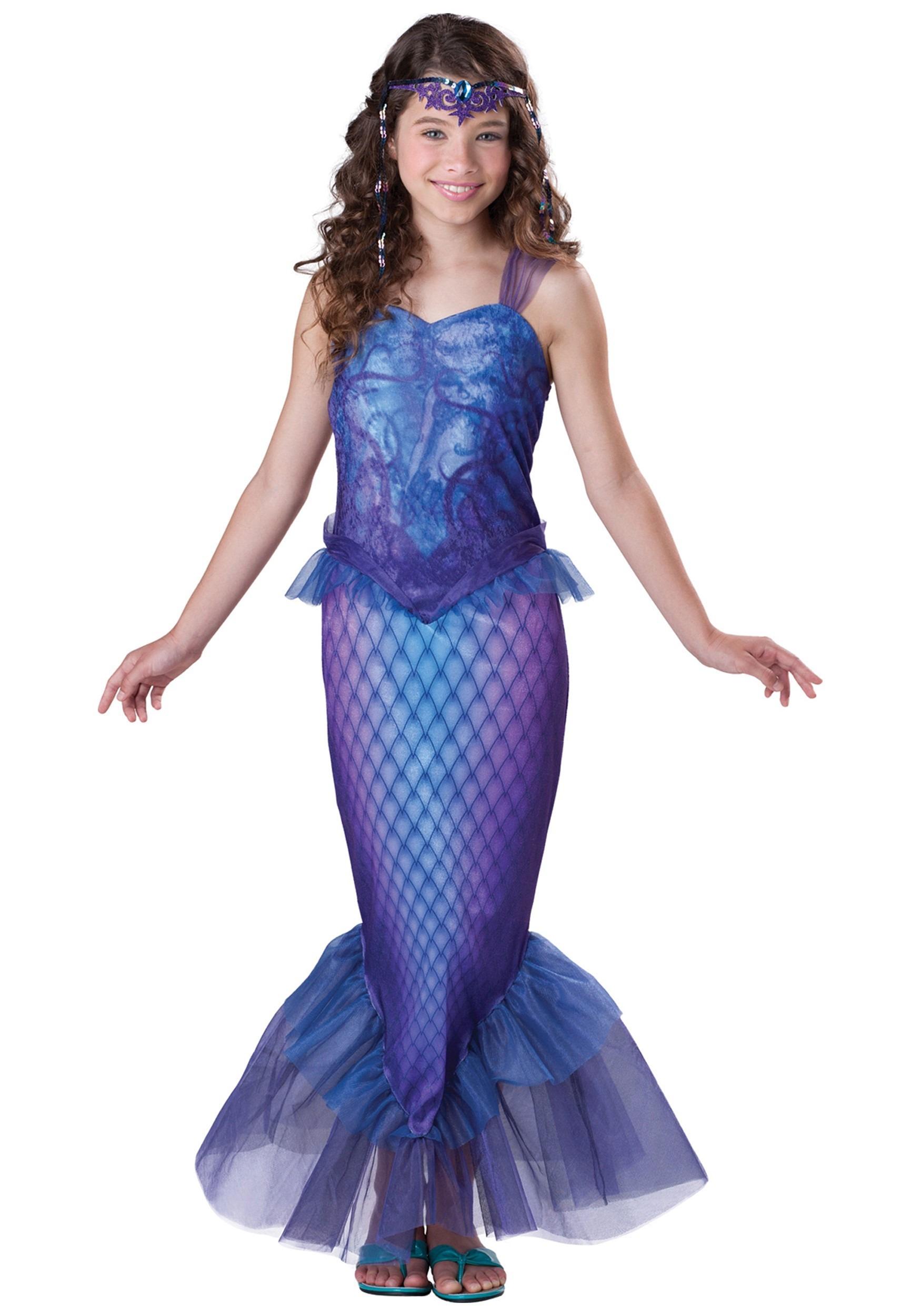 Mysterious Mermaid Costume for Tweens | Sea Creature Costumes