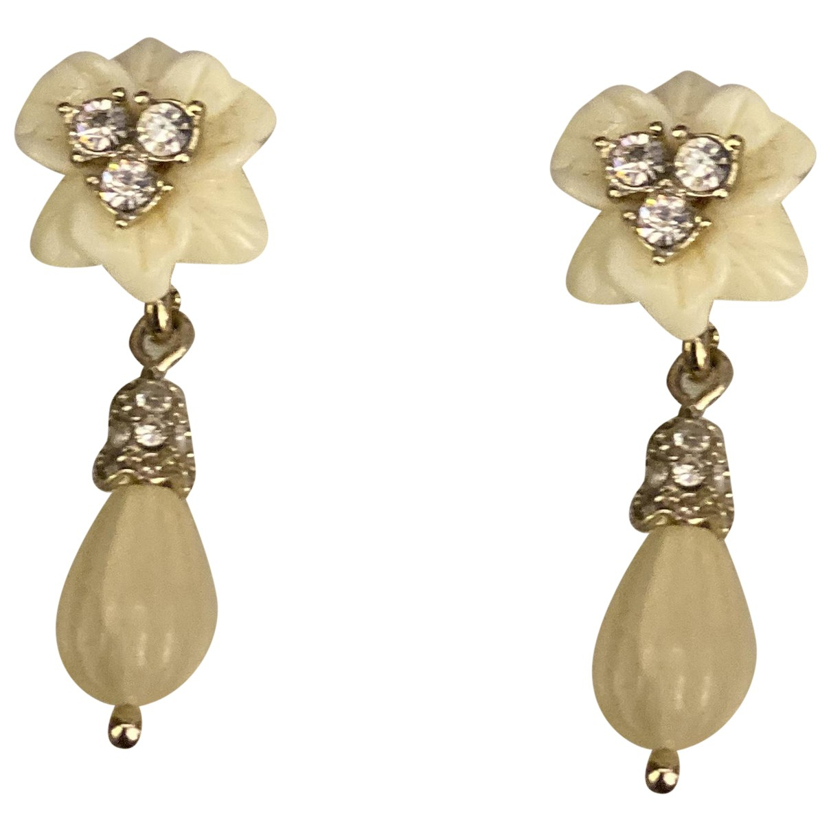 Marchesa \N Multicolour Metal Earrings for Women \N