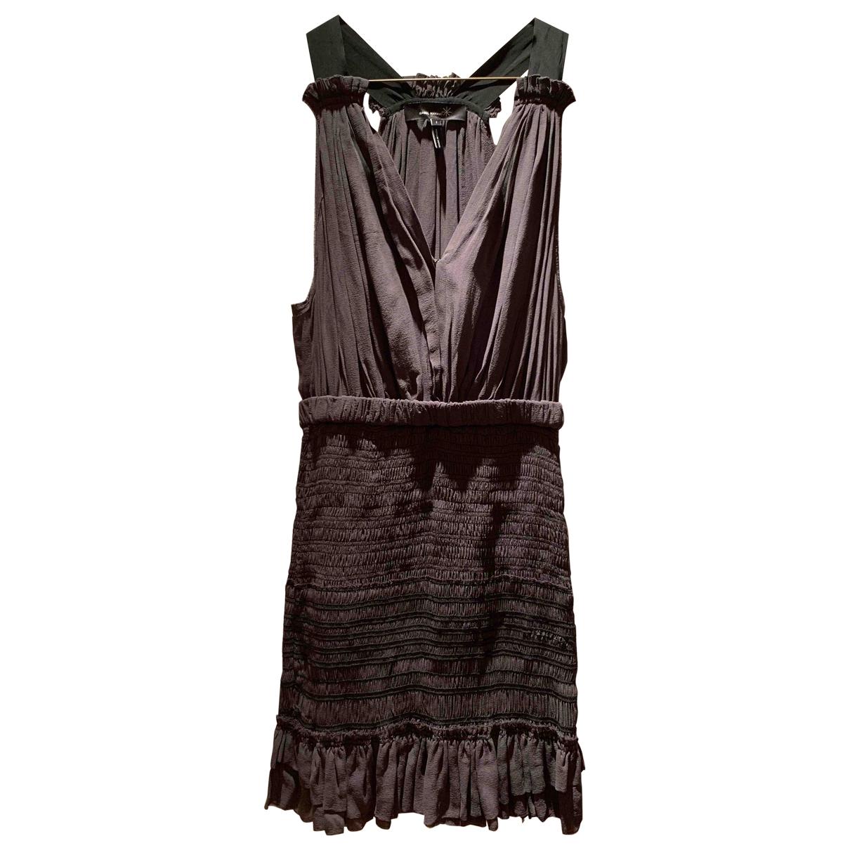 Isabel Marant - Robe   pour femme en soie - anthracite