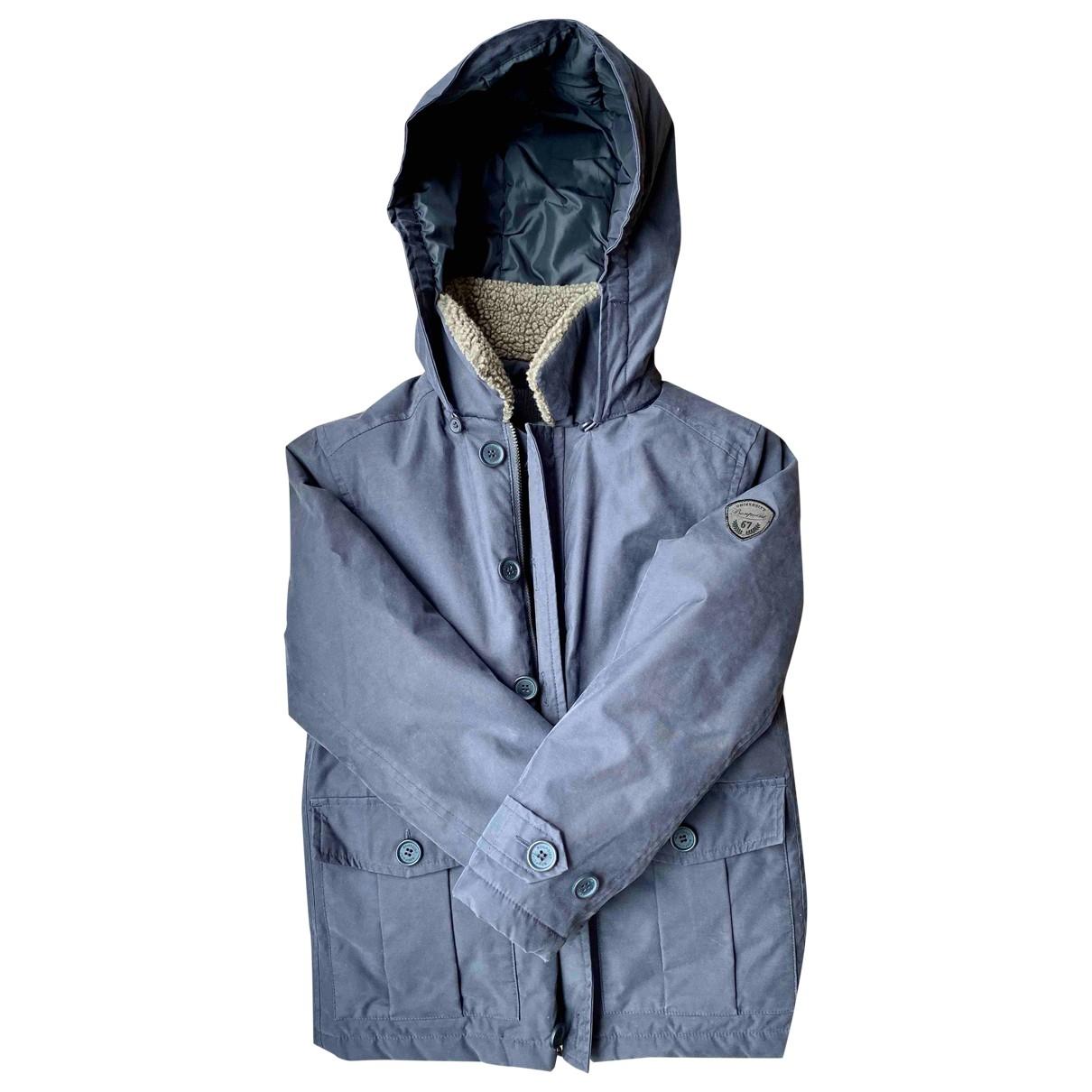 Bonpoint - Blousons.Manteaux   pour enfant - bleu