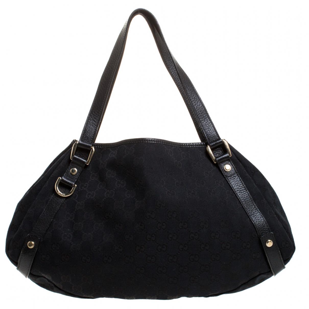 Gucci Pelham Handtasche in  Schwarz Leder