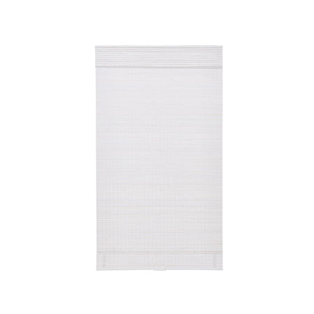JCPenney Home Bamboo Woven Wood Cordless Room Darkening Roman Shade, One Size , White