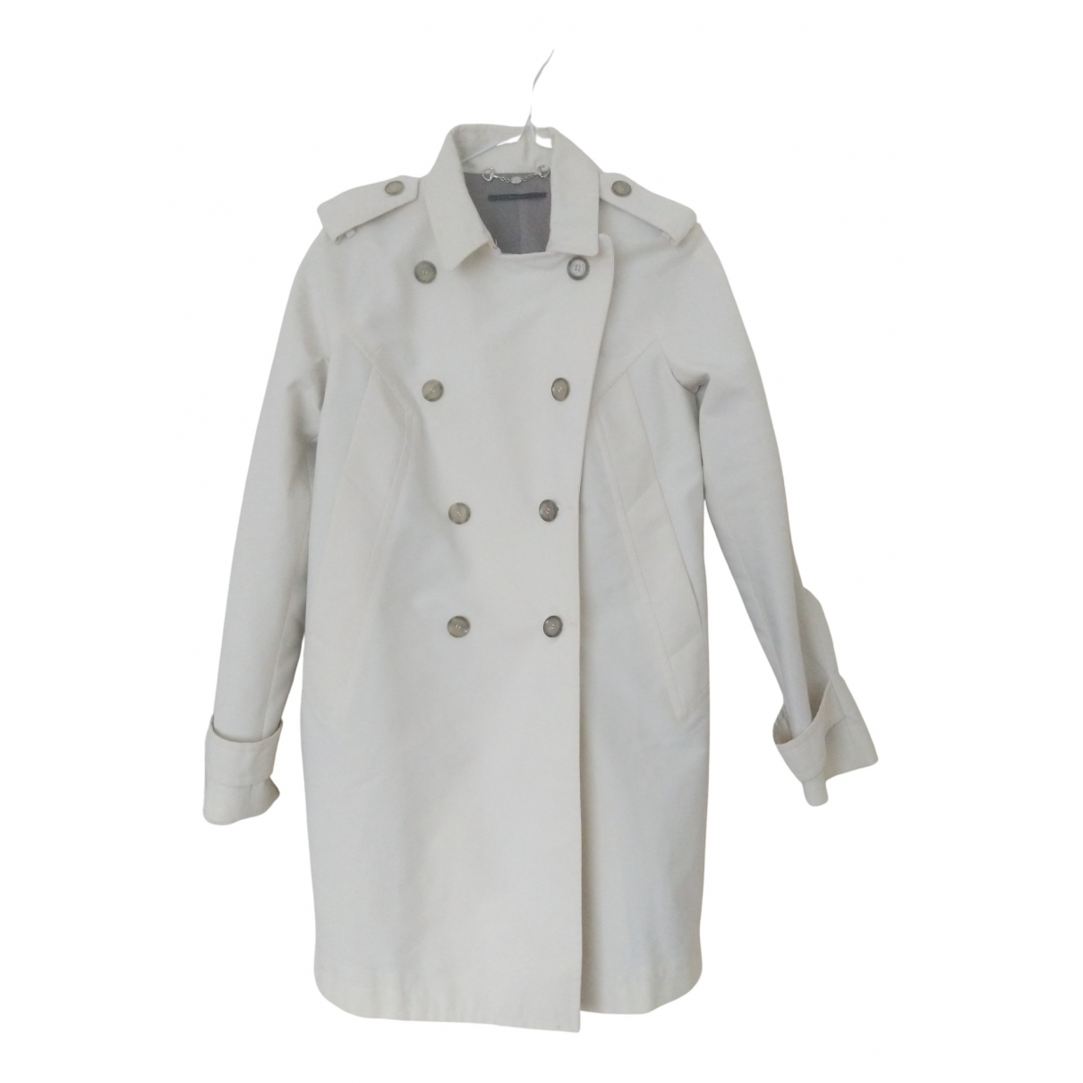Gucci \N Trench in  Weiss Baumwolle