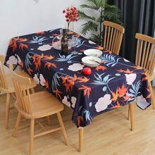 Tischdecke mit Blumen Muster