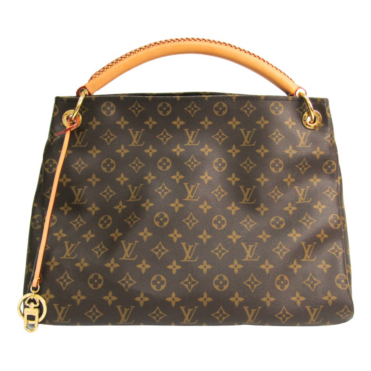 Louis Vuitton Artsy Brown Cloth handbag for Women N