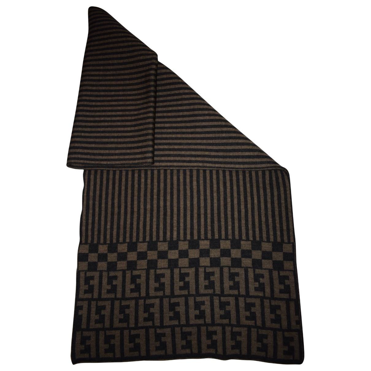 Fendi \N Brown scarf for Women \N