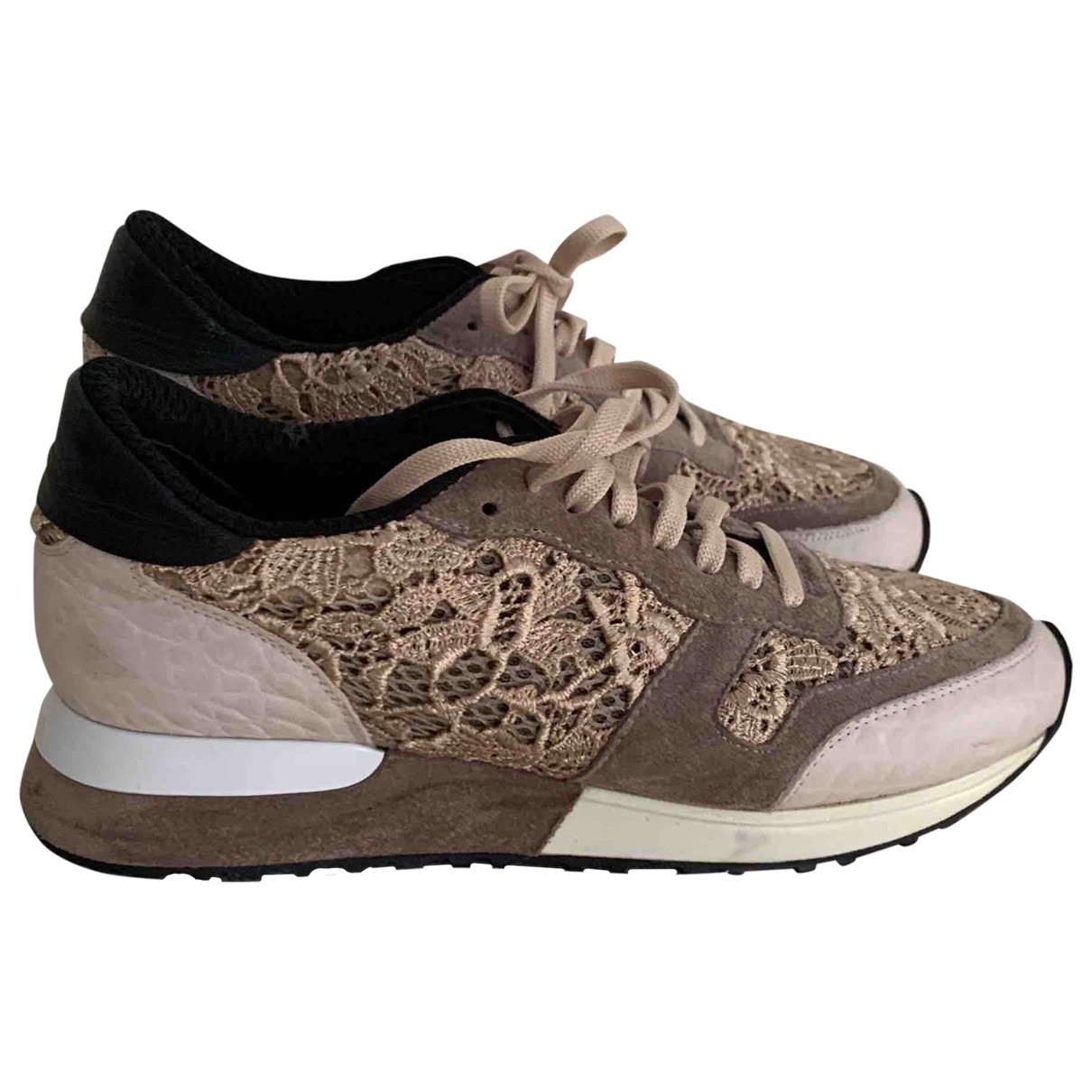 Laurel \N Sneakers in  Beige Leder