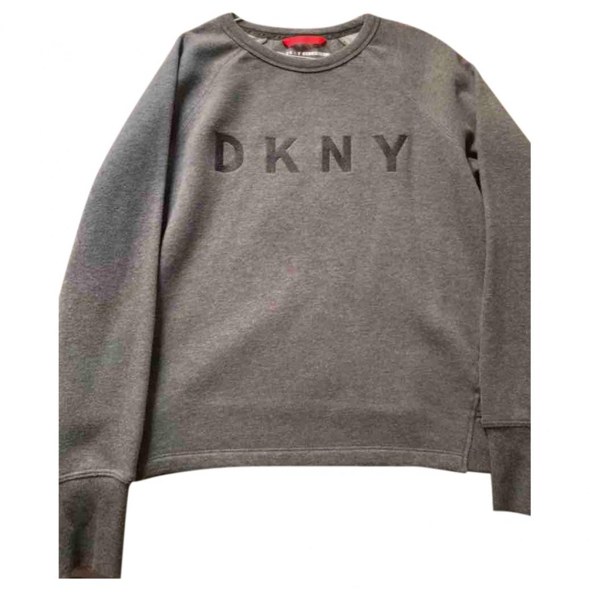 Dkny \N Grey Cotton Knitwear for Women M International