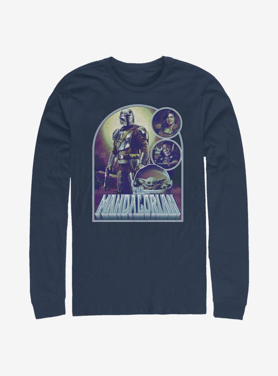 Star Wars The Mandalorian Bounty Jobs Long-Sleeve T-Shirt