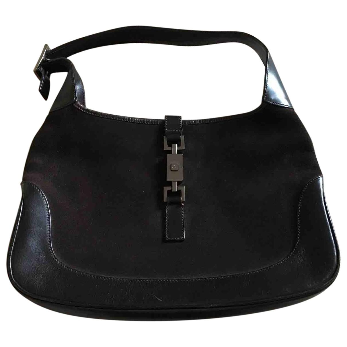 Gucci Jackie Vintage  Brown Suede handbag for Women \N