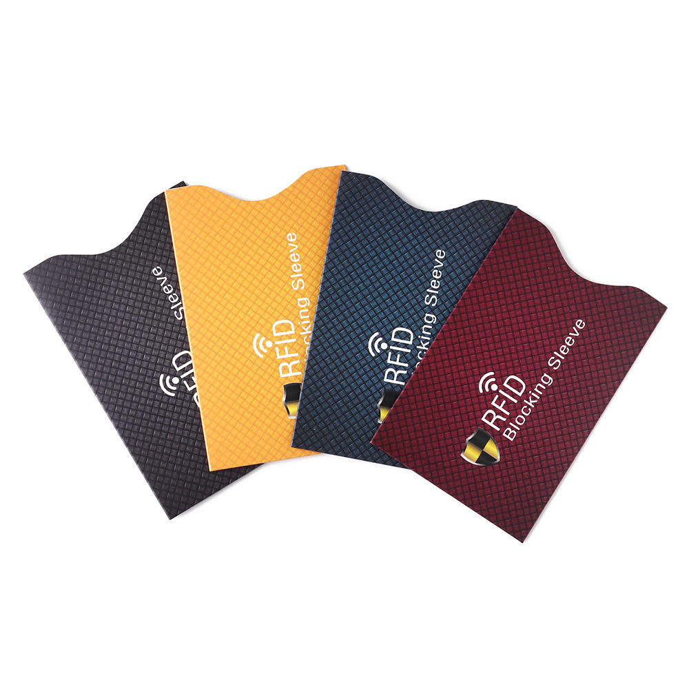 5pcs Anti Theft Antimagnetic for RFID Credit Card Protector Blocking Cardholder Sleeve Skin Case Covers Protection Bank