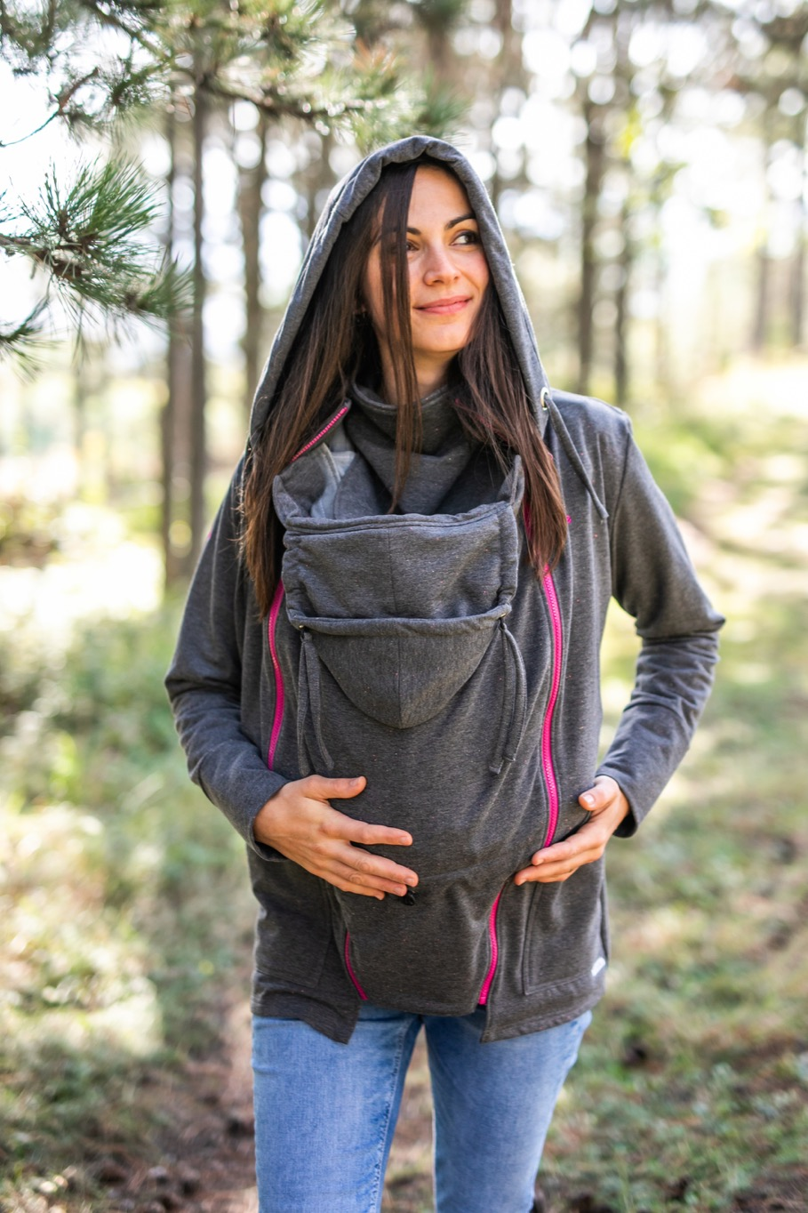 Be Lenka - Dunkel-grau Jogging Tragejacke l Tragen eines Sweatshirts mit 3 in 1 Trainingsanzug