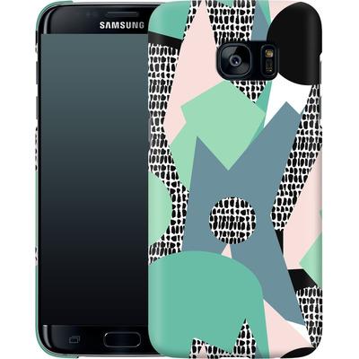 Samsung Galaxy S7 Edge Smartphone Huelle - Mountains von Jenna Kunnas