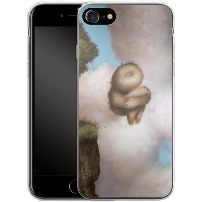 Apple iPhone 8 Silikon Handyhuelle - A Fleeting Moment von Dan May