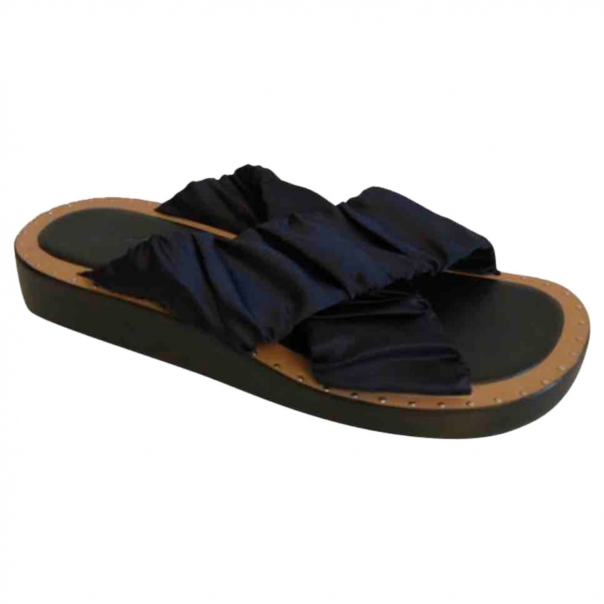 3.1 Phillip Lim \N Navy Leather Sandals for Women 37 EU