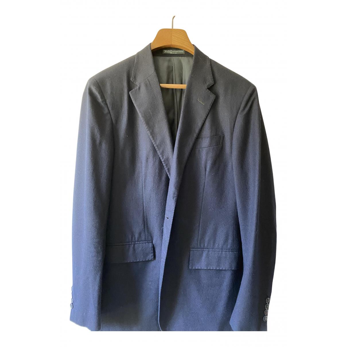 Polo Ralph Lauren - Vestes.Blousons   pour homme en laine - marine