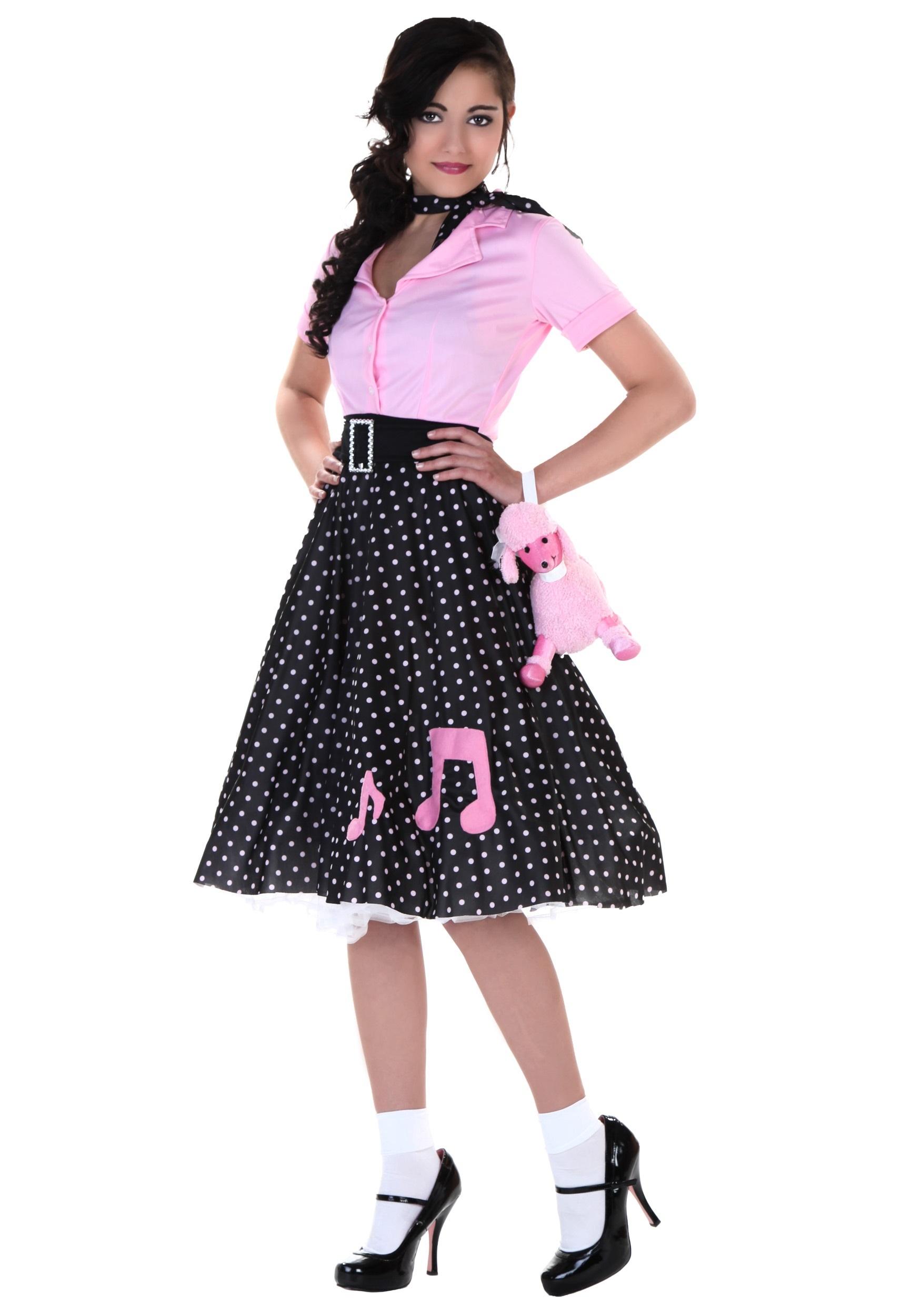 Plus Size Sock Hop Cutie Costume | Womens 50s Costume