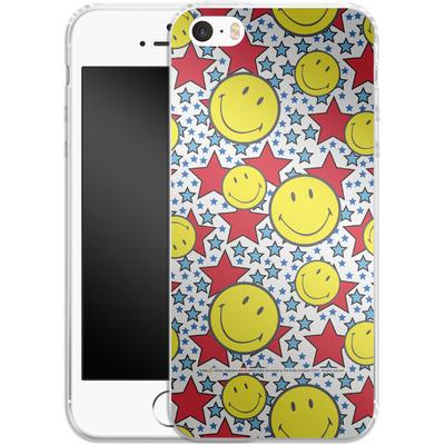 Apple iPhone 5 Silikon Handyhuelle - Preppy Colors von Smiley®