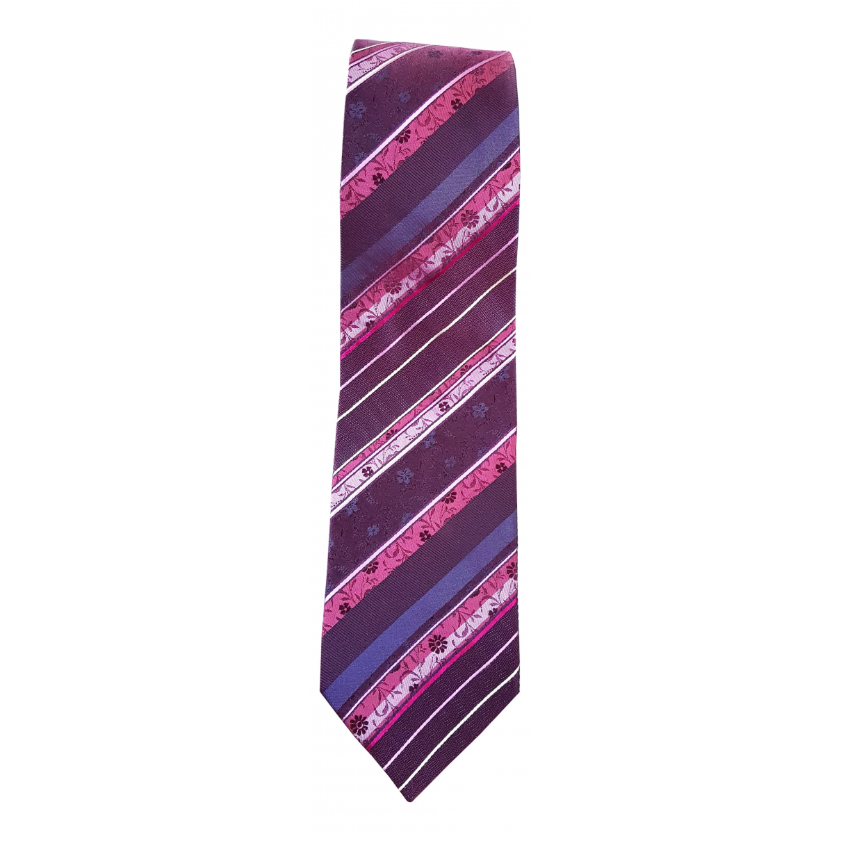 Kenzo - Cravates   pour homme en soie - violet