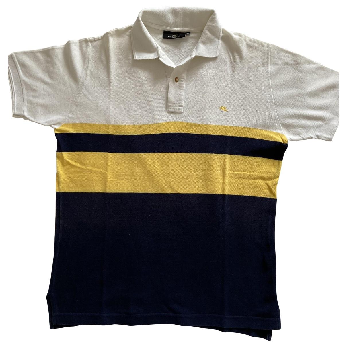 Etro - Polos   pour homme en coton - multicolore