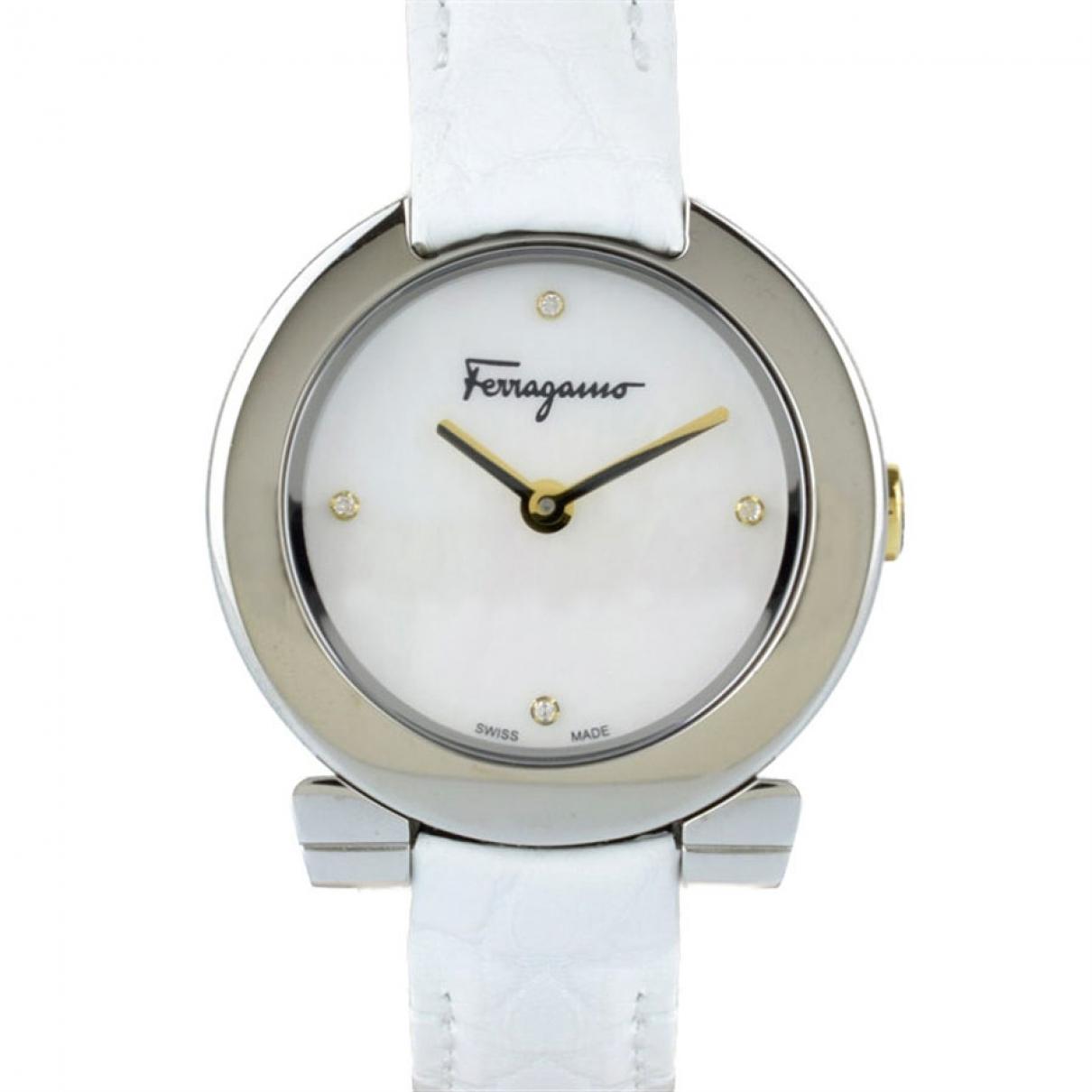 Salvatore Ferragamo \N Steel watch for Women \N