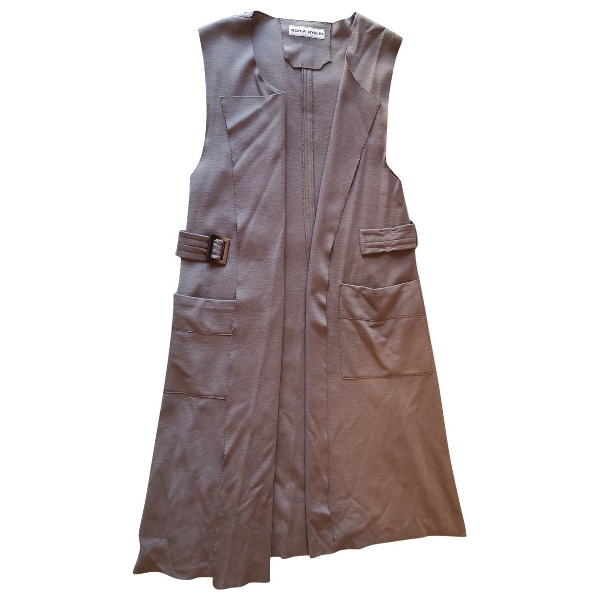 Sonia Rykiel - Pull   pour femme en laine - beige