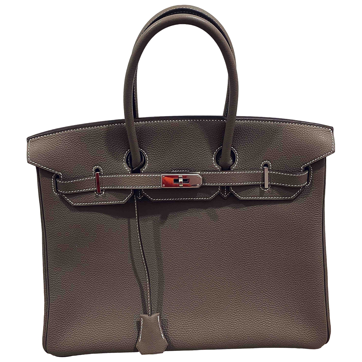 Hermès Birkin 35 Leather handbag for Women \N