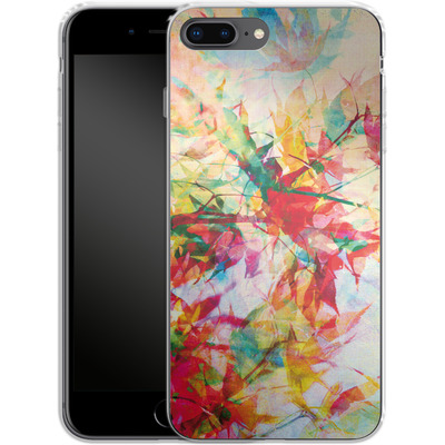 Apple iPhone 7 Plus Silikon Handyhuelle - Abstract Autumn 2 von Mareike Bohmer