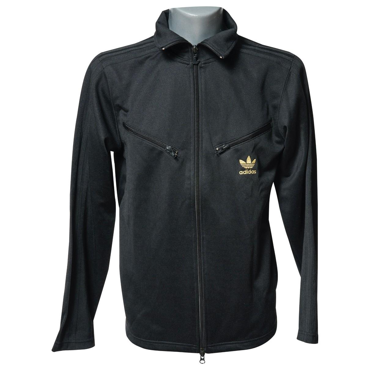 Adidas - Vestes.Blousons   pour homme en laine - noir