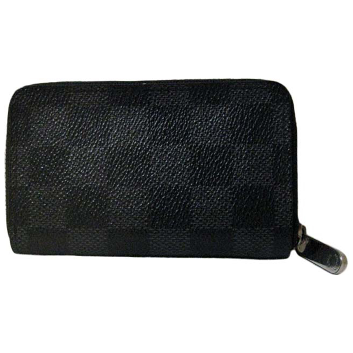 Louis Vuitton \N Grey Cloth Small bag, wallet & cases for Men \N
