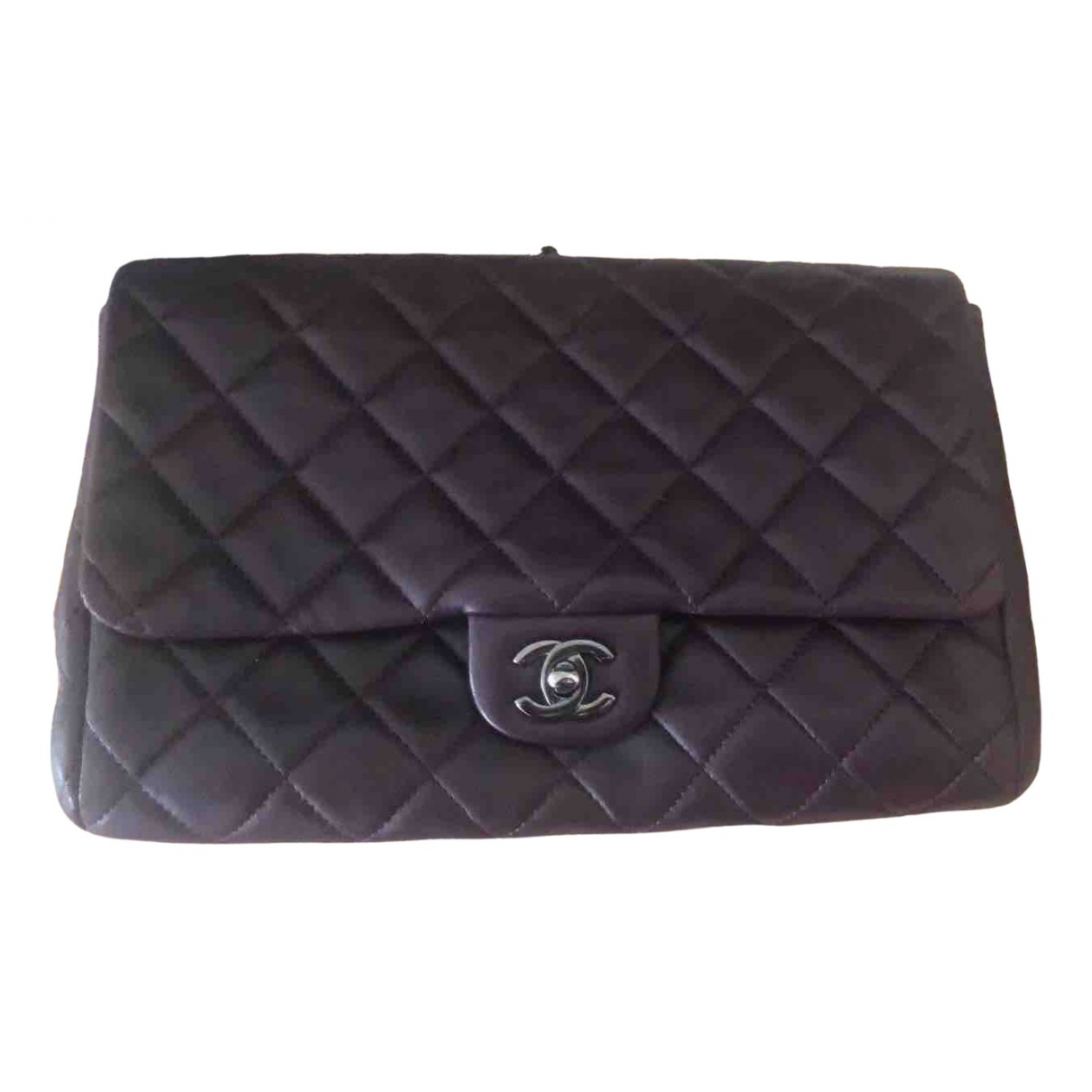Chanel Timeless/Classique Burgundy Leather handbag for Women \N