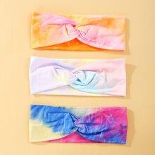 3pcs Tie Dye Headband