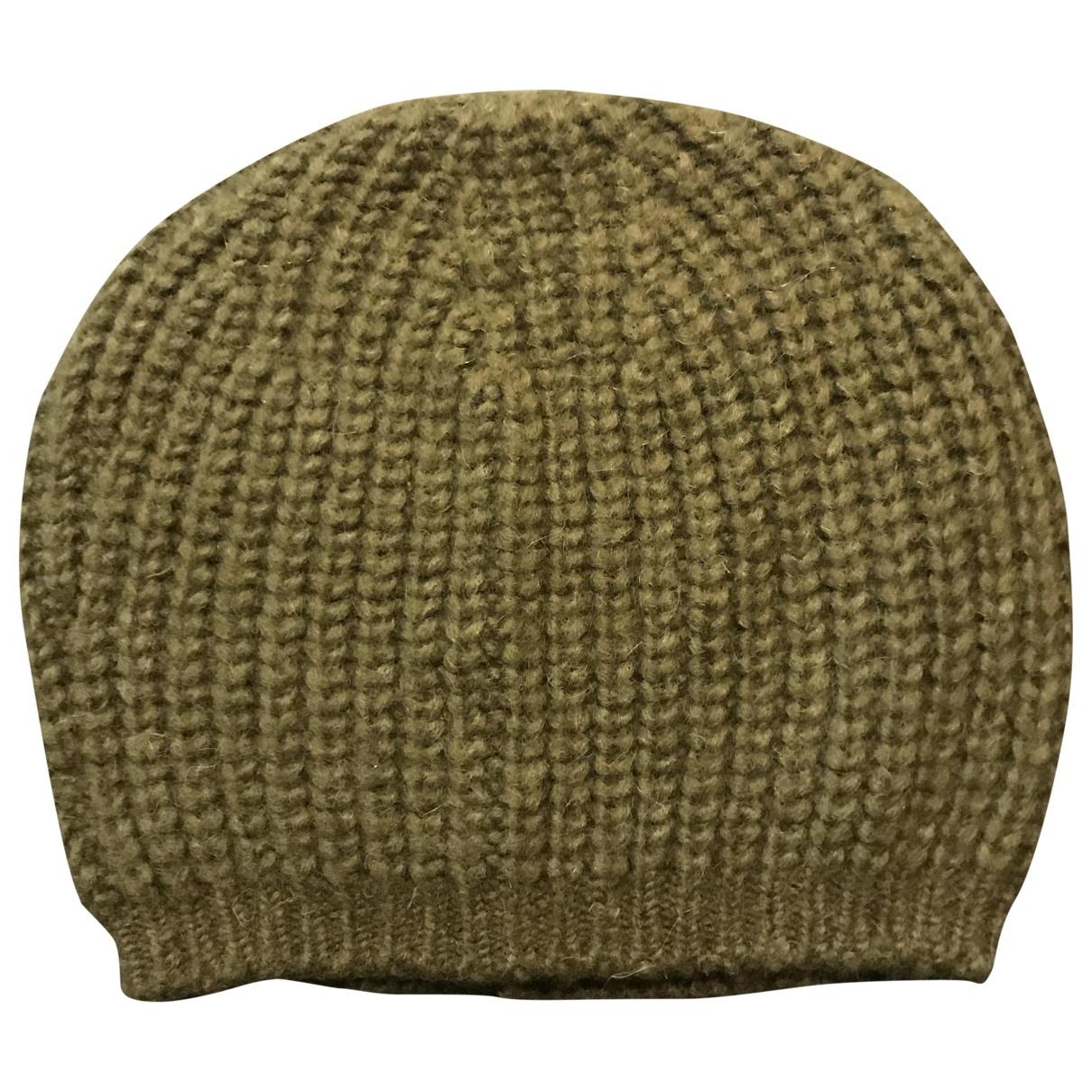 Isabel Marant Etoile - Chapeau   pour femme en laine - kaki