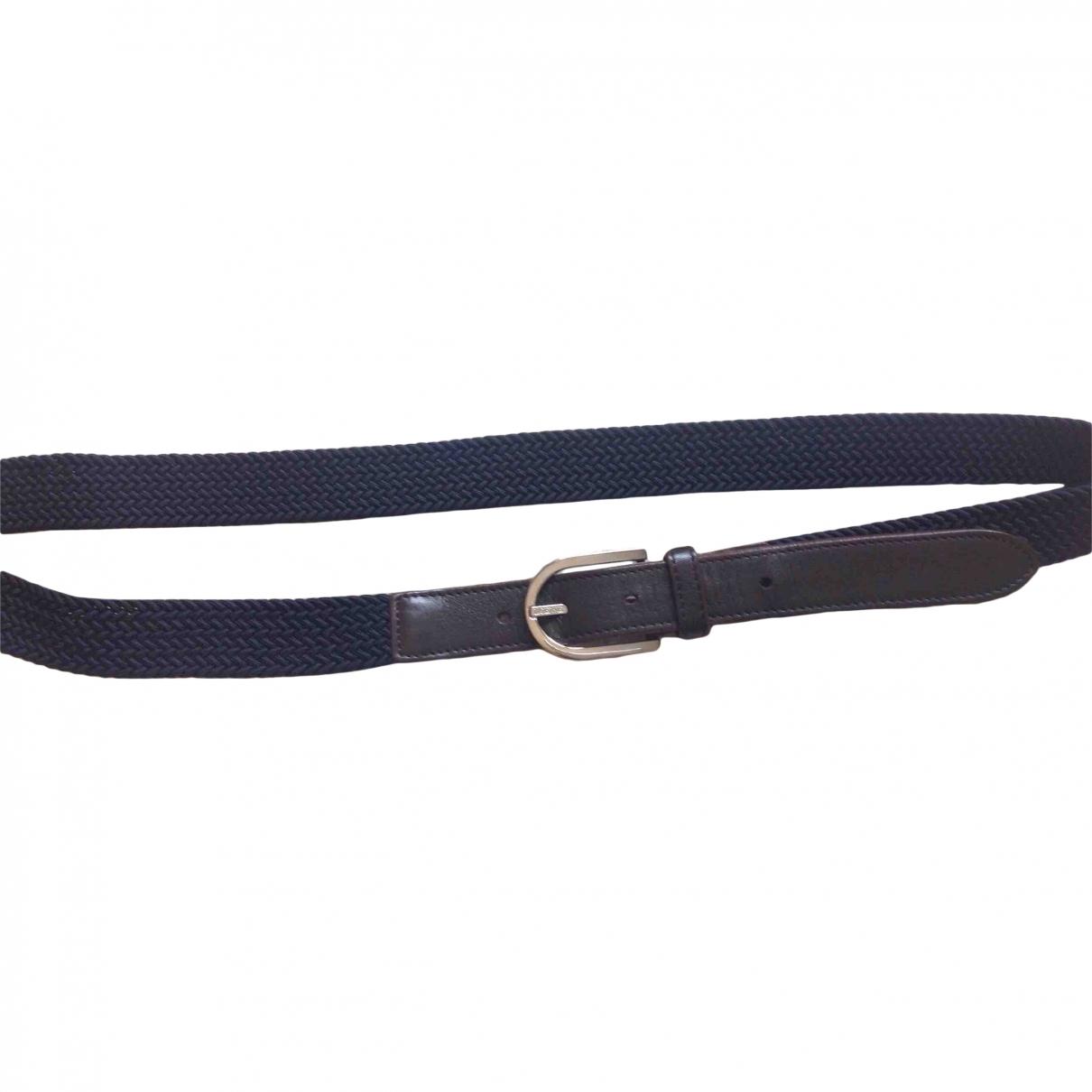 Loewe \N Navy Leather belt for Men L international