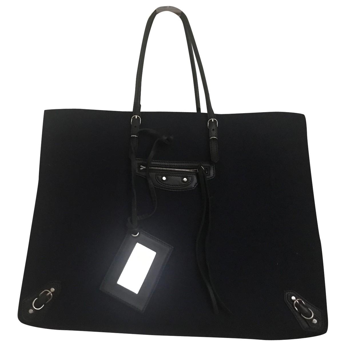 Balenciaga Papier Blue Cloth handbag for Women \N