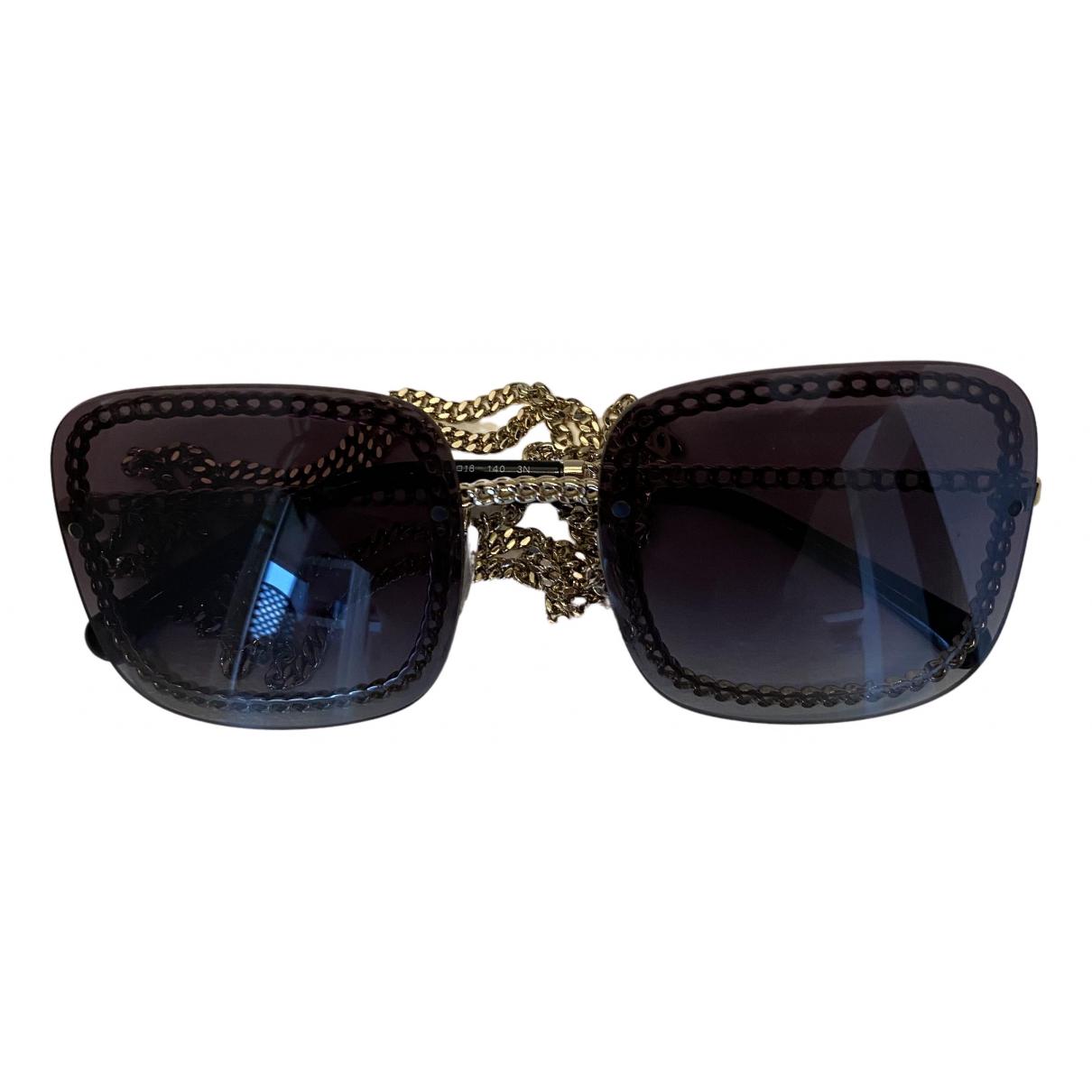 Chanel - Lunettes   pour femme en metal - argente