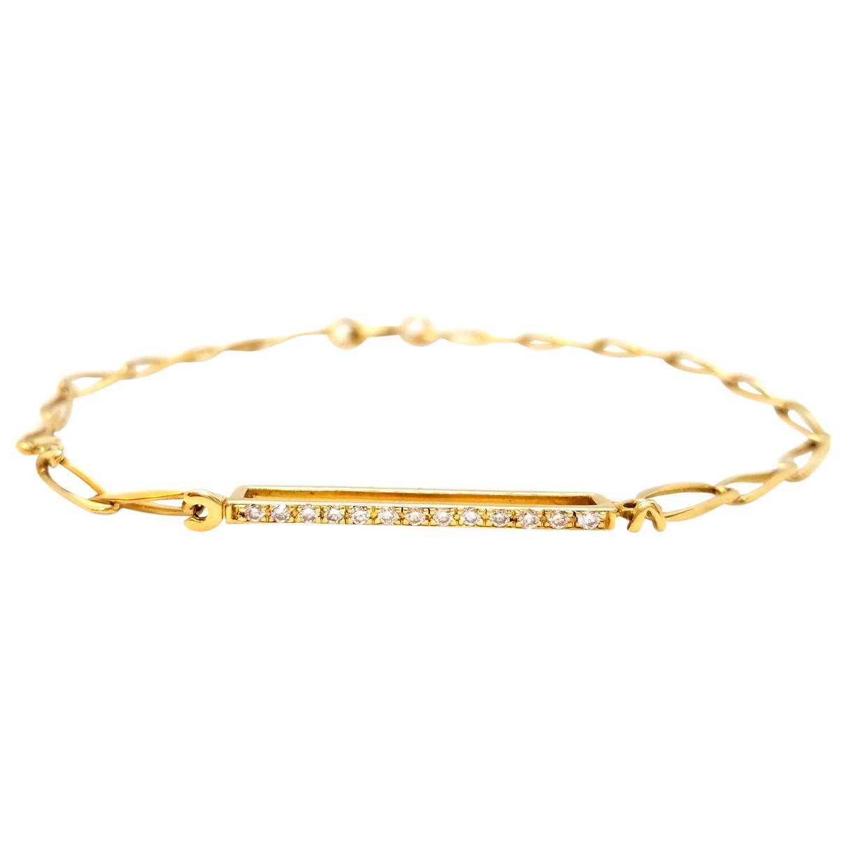 Autre Marque \N Gold Yellow gold bracelet for Women \N