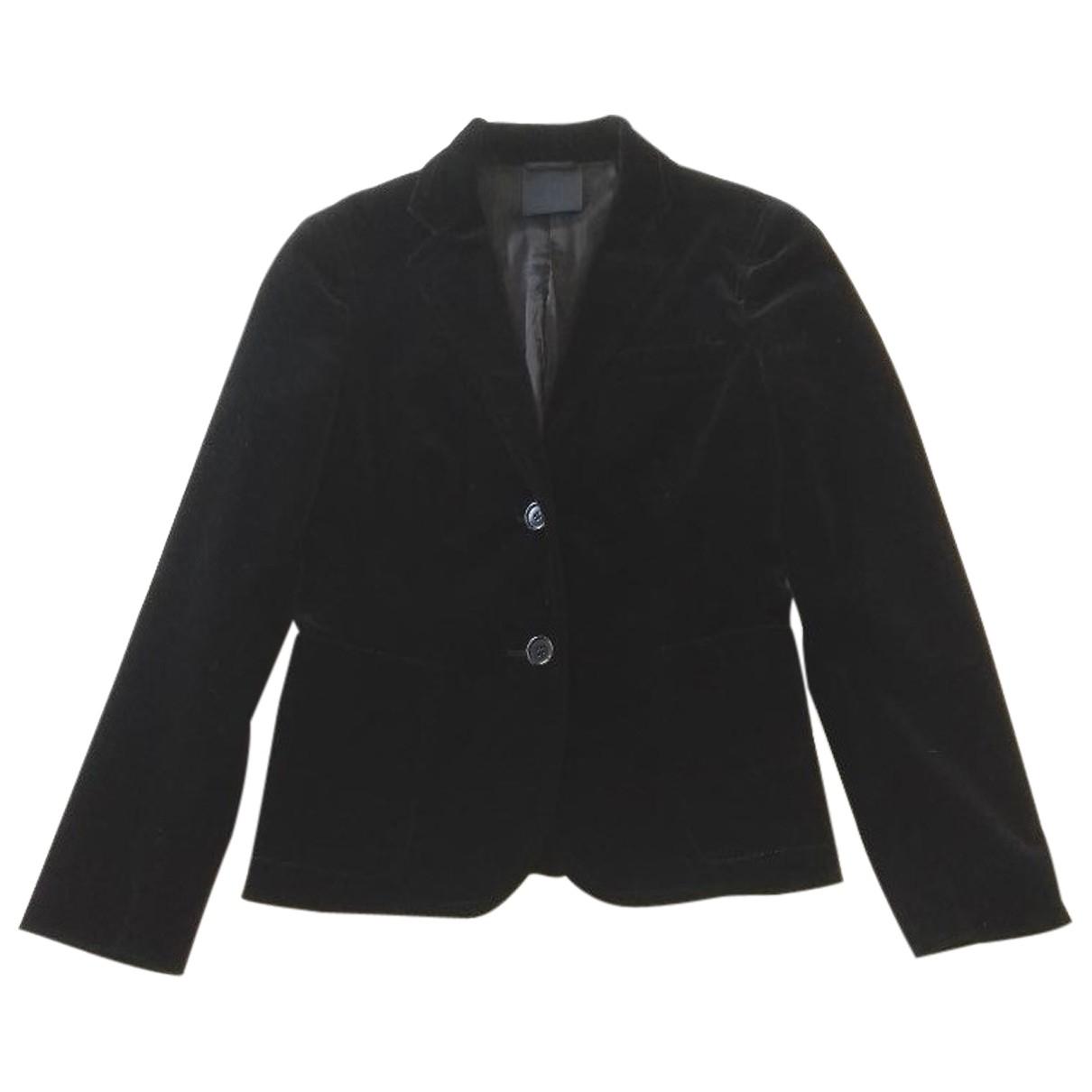 Aspesi - Veste   pour femme en velours - noir