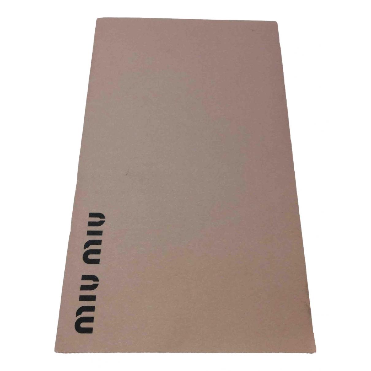 Miu Miu - Mode   pour lifestyle en coton - rose
